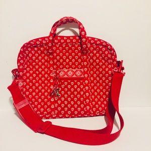Vera Bradley Laptop/Messenger Bag